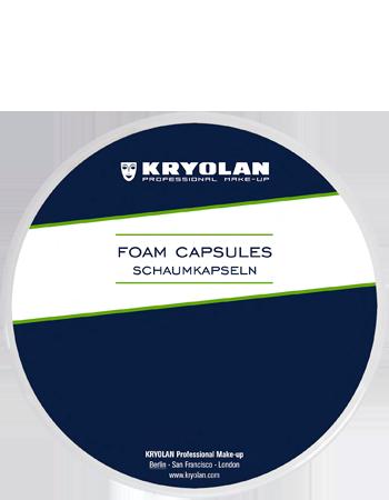 Foam Capsules, White