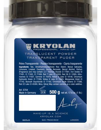 Transparent Powder 500g - Alla färger