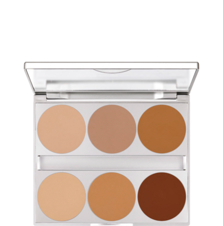 Dual Finish Palette Contouring