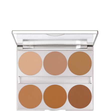 Dual Finish Palette Warm Complexion