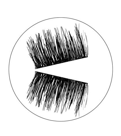 Lösögonfrans med magnet Hypnose