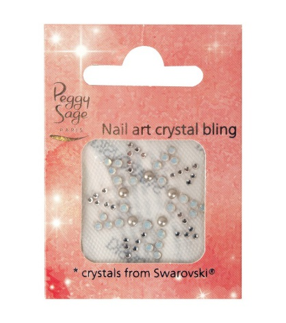 Nageldekoration crystal bling