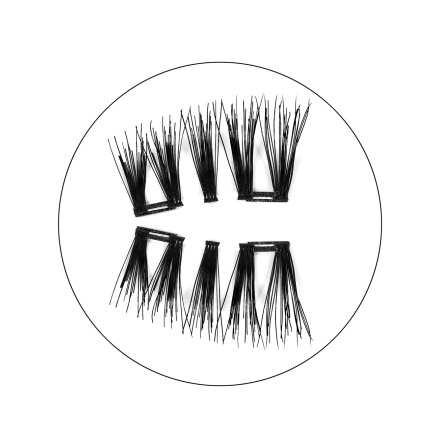 Magnetic false eyelashes - Justine