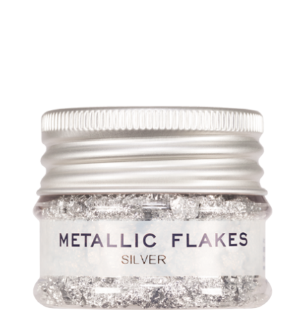 Metallic Flakes Silver 5 g