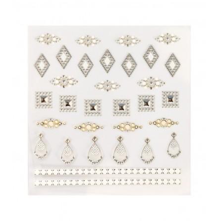 Decorative nail stickers jewel
