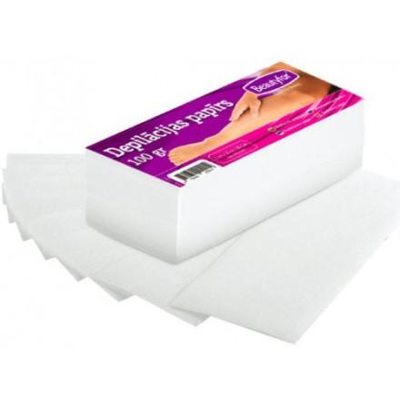 Vaxpapper för kroppsvax 7 x 20 cm 100st