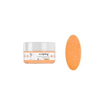 Akrylpulver crispy peach - 10g