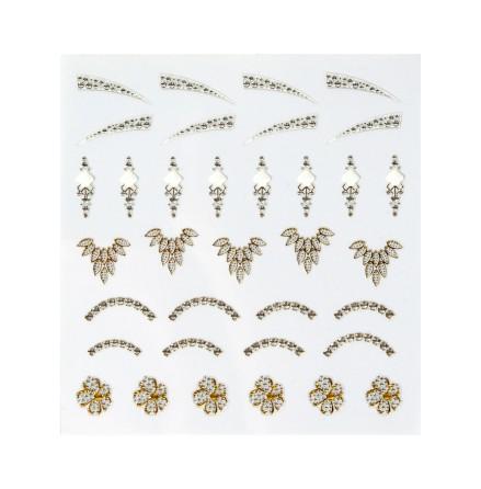 Nagelstickers jewel