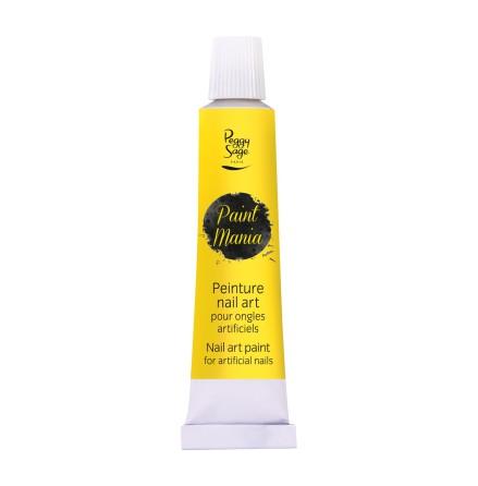 Nailart färg - Paint mania yellow 12ml