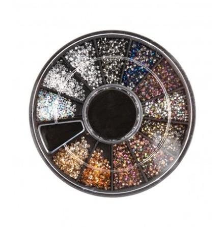 Karusell för nageldekorationer - Micro diamond
