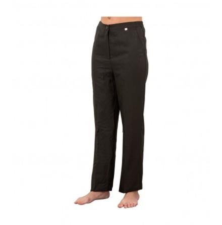Svarta byxor för skönhetssalonger L / M / S