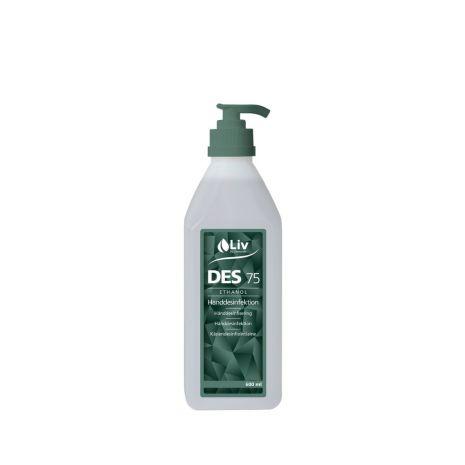 Handdesinfektion DES 75 600ml pump