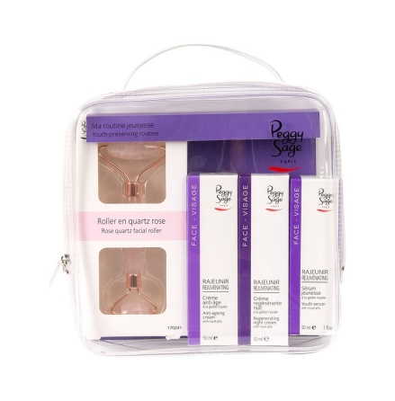 Kit med anti-ageing ansiktsprodukter