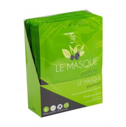 15 ansiktsmasker renande grönt te