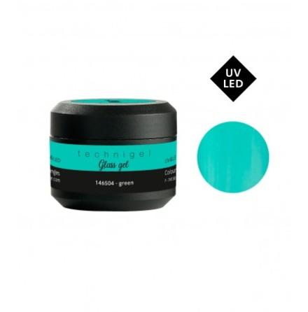 Färgad UV&LED glass gel green 5g