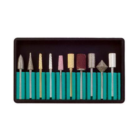 Kit med 10 bits till elektrisk nagelfil