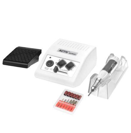 Elektrisk nagelfil för naglar JD500 VIT