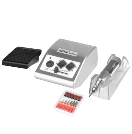 Elektrisk nagelfil för naglar JD500 SILVER