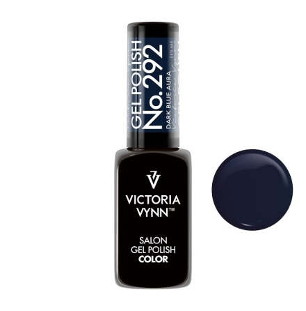 Gel Polish Color Dark Blue Aura 292