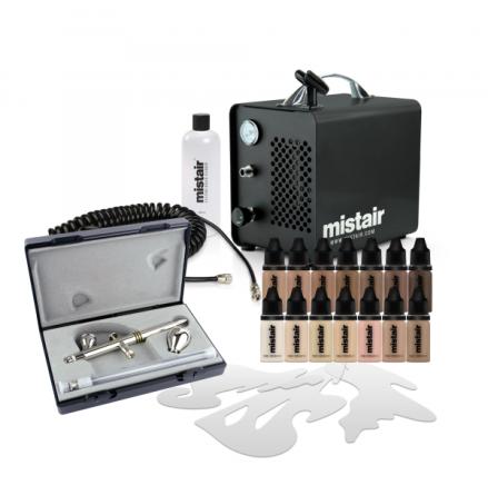 Mistair Airbrush Starter Kit Solo Pro SL1000