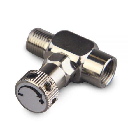 Airbrush pressure adjuster
