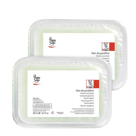 2 paraffin vaxblock med sheasmör 500 gr