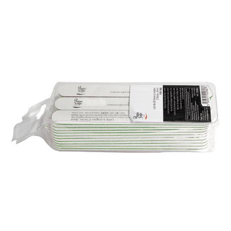30-pack 2-sidiga nagelfilar 100/180, white
