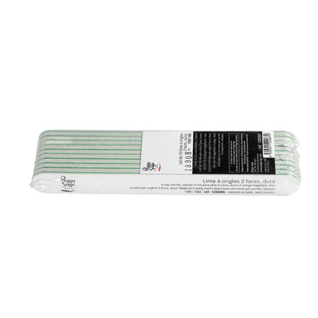 10-pack 2-sidiga nagelfilar 100/180, white