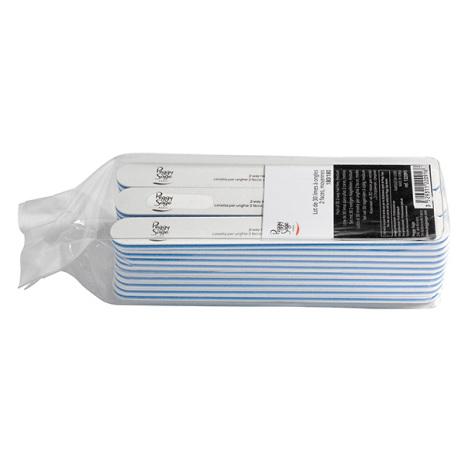 30-pack 2-sidiga nagelfilar 180/180, white