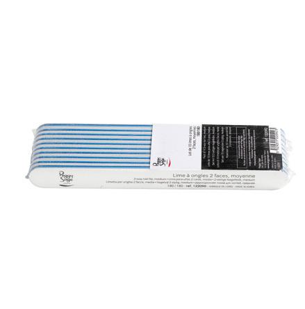10-pack 2-sidiga nagelfilar 180/180, white
