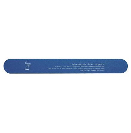 Stor 2-sidig nagelfil 240/240, blue