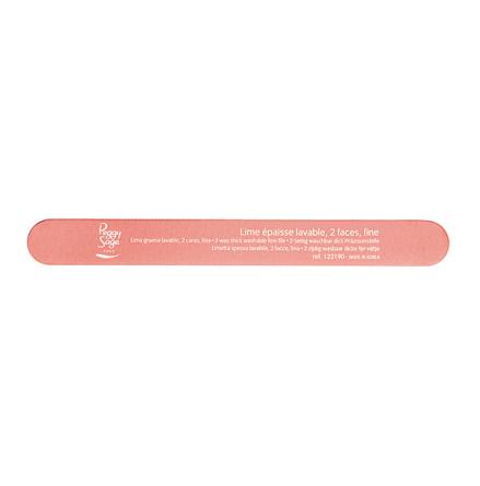 2-sidig tjock nagelfil 600/600, pink