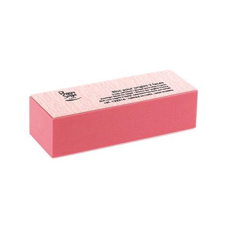 2-sidigt slipblock rosa