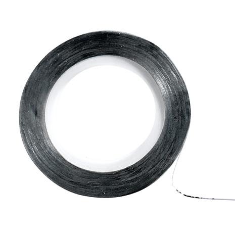 Nagelsticker tape silver