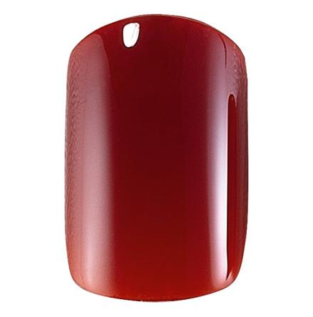 Set med 24 lösnaglar - red