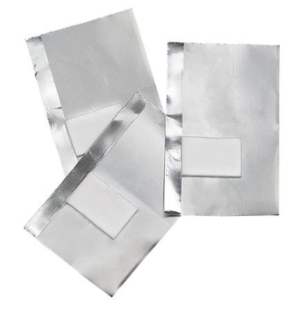 50 aluminiumfolie med kompress