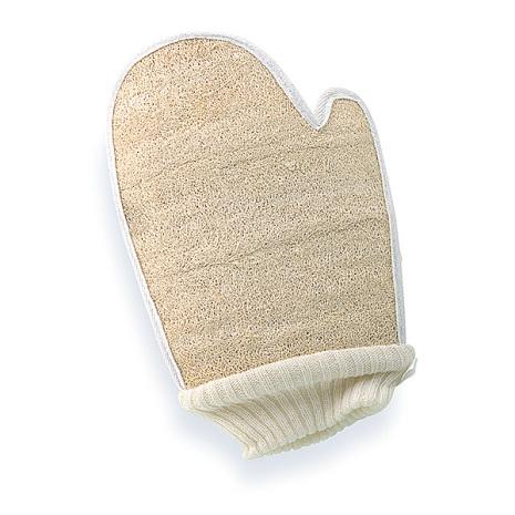 Loofah handske