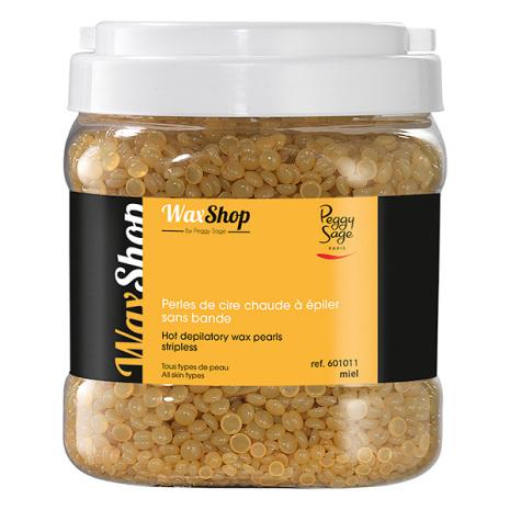 Varmt vax, utan remsa-1 kg pärlor miel