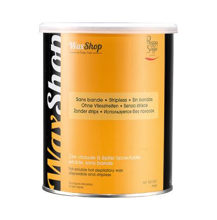Varmt fettlösligt vax, utan remsa-800 gr miel