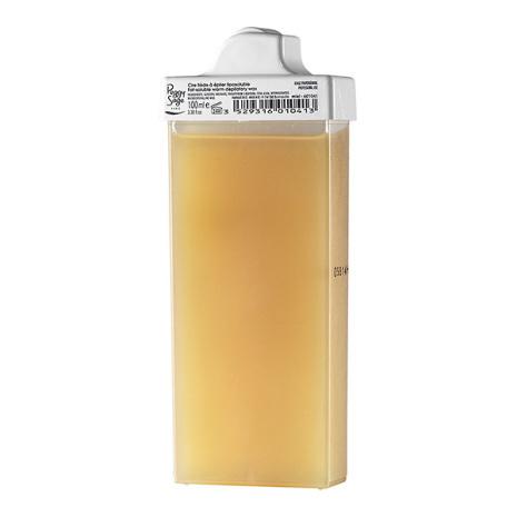 Vaxkassett med smal rollon 100 ml miel