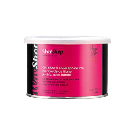 Fettlösligt ljummet vax, utan remsa 400 ml rose