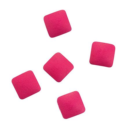 Metallic nageldekoration studs pink