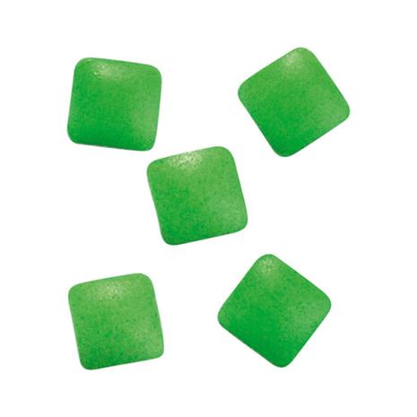 Metallic nageldekoration - studs green