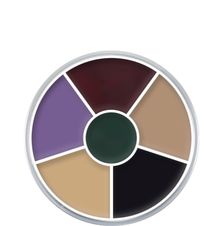 CreamColorCircle Black Eye