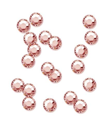 20 strasstenar blush rose SS5