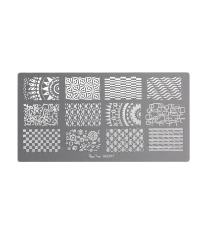 Nagellacksstämpel plate 3