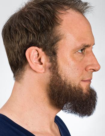 Full beard Brown